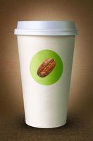 Pappbecher für Kaffee mit Logo