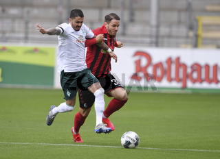 Fussball 1. Bundesliga Saison 19/20: SC Freiburg - SV Werder Bremen