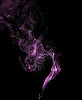 Abstract smaoke in purple