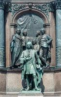 Statue of Chancellor Count Friedrich Wilhelm von Haugwitz (1702-1765) in Vienna