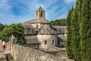 Senanque Abbey in the Luberon