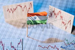 Entwicklung der Wirtschaft in Indien