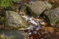 Rocks and babbling brook
