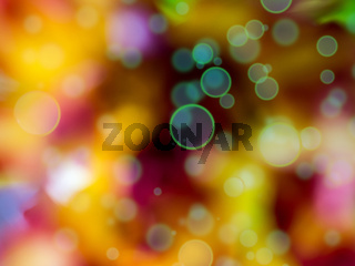 Colorful background with Lens Flares