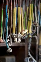 Elektroden in einer Galvanisierungsanstalt