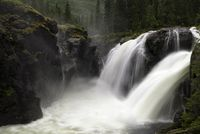 Rjukandefossen near Hemsedal