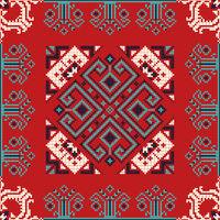 Romanian traditional pattern 185