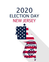 2020 New Jersey vote card