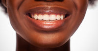 Glamour African American Female Smile