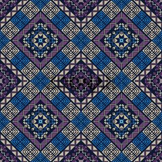 Palestinian embroidery pattern 302
