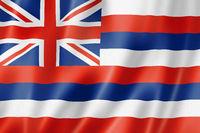 Hawaii flag, USA