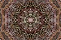 Stickerei Kaleidoskop