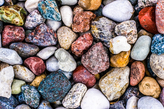 Stone pebbles background texture, landscape architecture