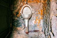 alte Toilette Herren WC   pissoir