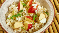 Pearled Barley Salad with Apples