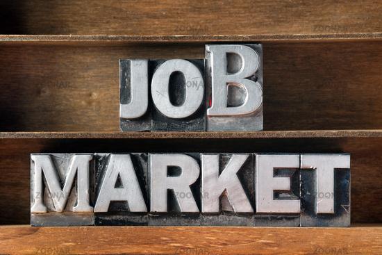 job market tray