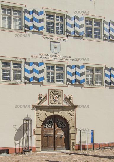 Rathaus Möhringen an der Donau, Stadtteil von Tuttlingen