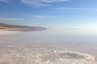 Der große Salzsee Tuz Gölü
