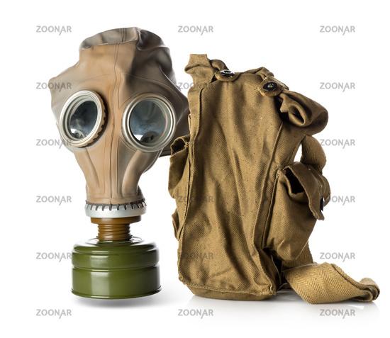 Respirator with bag