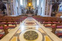 Saint Peter in Rome: interior