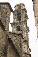 Corsica church tower Penta di Casinca