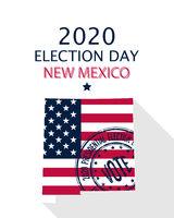 2020 New Mexico vote card