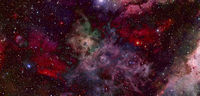 Endless universe. Elements of this image furnished by NASA