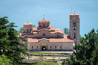 Church of Saint John at Kaneo, Lake Ohrid, Macedonia