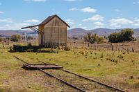 Old Jincumbilly Station in Australia