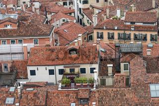 Dächer der Altstadt von Venedig - Detail