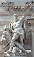 Hercules and Prometheus, Hofburg Palace, Vienna