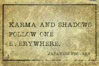 Karma and shadows JP