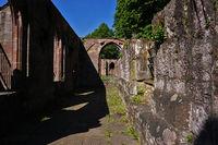 Kloster Hirsau, Mauern der Ruine, Kreuzgang,