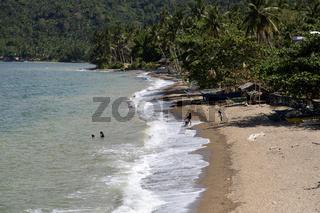 Lonely Beach on Mindoro Island