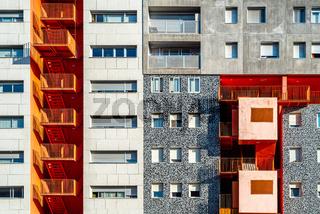 Mirador Building in Sanchinarro district of Madrid