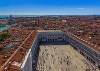 San Marco square in Venice Italy