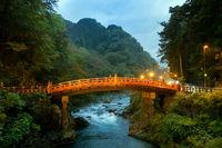Red Bridge Nikko Night