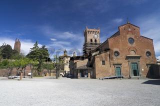 San Miniato, Toskana, Italien - San Miniato, Tuscany, Italy