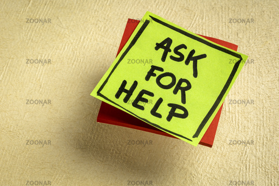 Ask for help advice or reminder