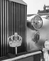 1945 King Husain's Rolls Royce car with the Royal Crown of Jordan
