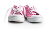 Retro sneakers. Tennis shoes.