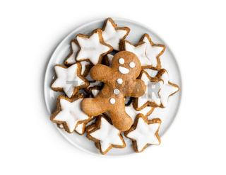 Xmas gingerbread man.