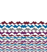 Multicolor Abstract Wavy Motif Pattern