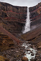 Hengifoss waterfall, Iceland