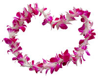 Hawaii Lei On A White Background
