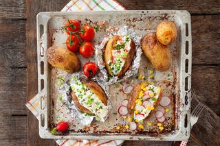 Gebackene Kartoffel mit Sour Cream