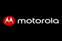 Motorola logo and brand name on black