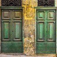 Maltese doors in Valletta