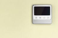 Video intercom with blank screen
