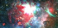 Nebula an interstellar cloud of star dust. Elements of this image furnished by NASA